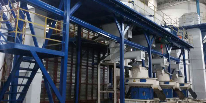Yuxi 10t/h Wood Pellet Production Line