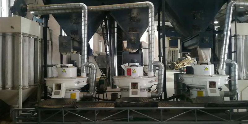 Jilin 6t/h Wood Pellet Production Line