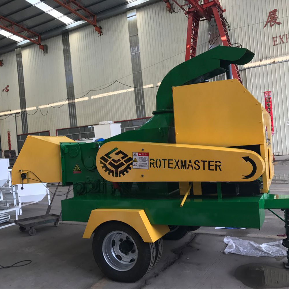 Hot Sale Professional Manufacturer Chipping Machine Pto Diesel Wood Chipper